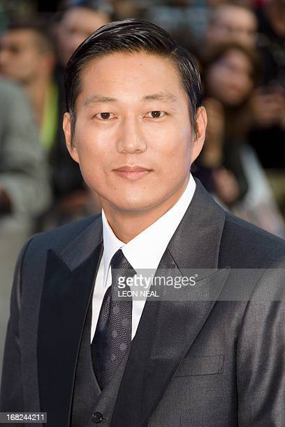 USKorean actor Sung Kang arrives at the world premiere of 'Fast and Furious 6' at the Empire cinema in Leicester Square in central London on May 7...