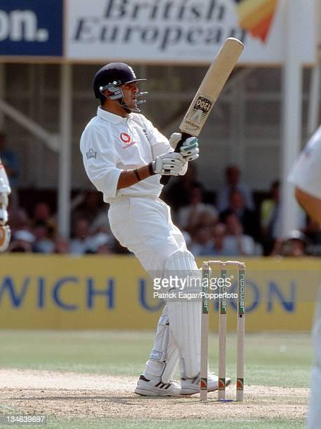 Usman Afzaal England v Australia 1st Test Edgbaston July 01