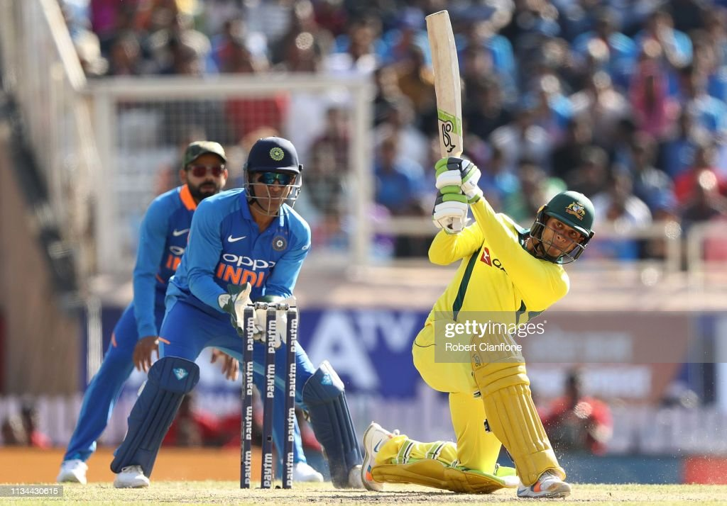 India v Australia - ODI Series: Game 3 : News Photo