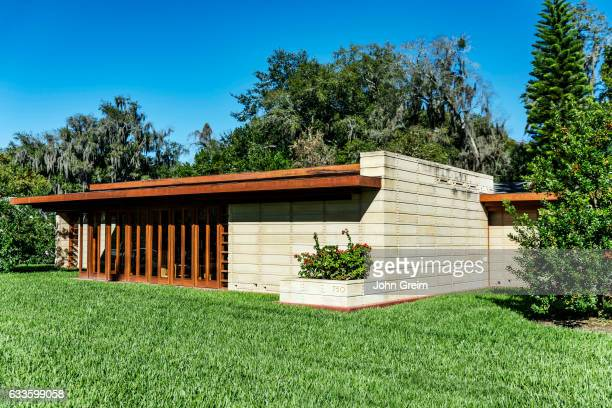 Usonian house designed by Frank Loyd Wright for Florida Southern College.
