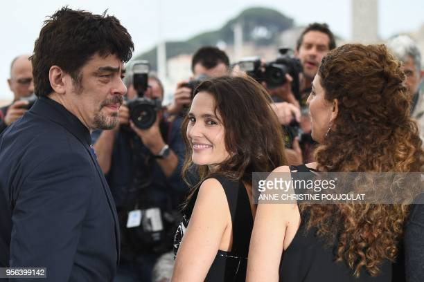 USPuerto Rican actor and President of the Un Certain Regard jury Benicio Del Toro French actress and member of the Un Certain Regard jury Virginie...