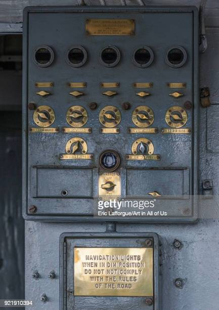 Uss Pueblo spy ship equipment Pyongan Province Pyongyang North Korea on April 15 2008 in Pyongyang North Korea