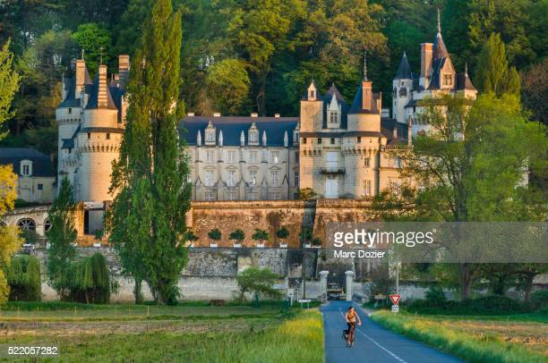 usse castle - loire valley stock pictures, royalty-free photos & images