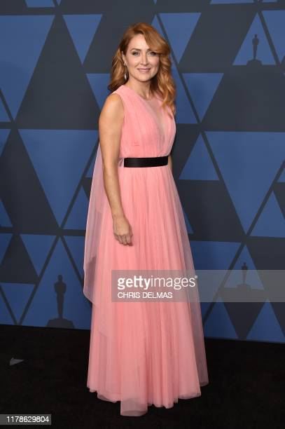 USSerbian actress Sasha Alexander arrives to attend the 11th Annual Governors Awards gala hosted by the Academy of Motion Picture Arts and Sciences...