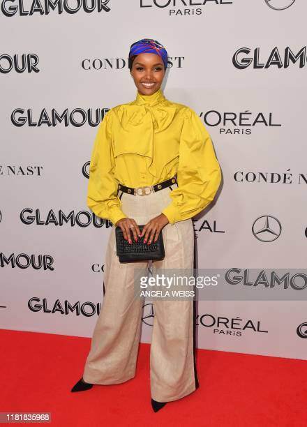 US/Somali model Halima Aden attends the 2019 Glamour Women Of The Year Awards at Alice Tully Hall Lincoln Center on November 11 2019 in New York City