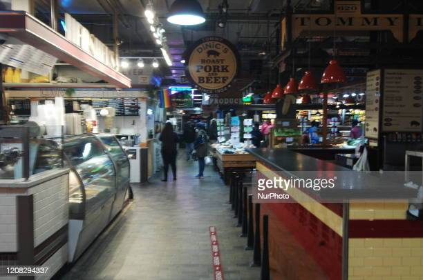 Usually packed Reading Terminal Market is still open but with far fewer customers leaving business owners wondering if keeping their shops open is...