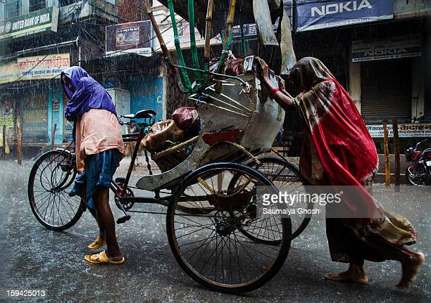 CONTENT] Usually Varanasi is a very busy city with narrow lanes and congested streets However due to incessant rainfall the streets are merely...