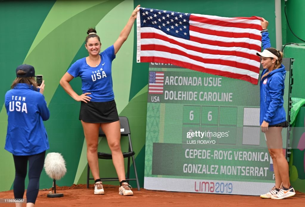 PANAM-2019-TENNIS-USA-PAR : News Photo