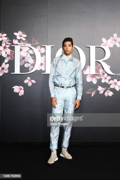 Uta attends the photocall at the Dior Pre Fall 2019 Men's Collection on November 30, 2018 in Tokyo, Japan.