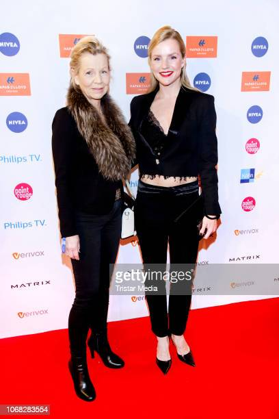 Uta Brandts and her daughter KimSarah Brandts attend the Movie Meets Media night at Grand ElysÈe Hamburg on December 3 2018 in Hamburg Germany