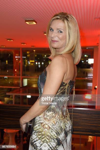 Uta Bresan attends the 12th Hope Charity Gala at Kulturpalast on October 28 2017 in Dresden Germany