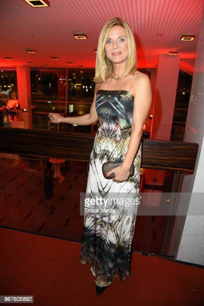 Uta Bresan attends the 12th Hope Charity Gala at Kulturpalast on October 28, 2017 in Dresden, Germany.