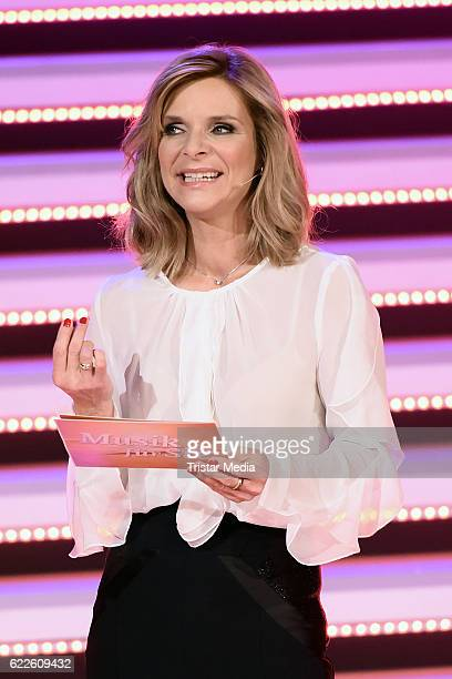 Uta Bresan during the 'Die Schlager des Jahres' on November 11 2016 in Suhl Germany