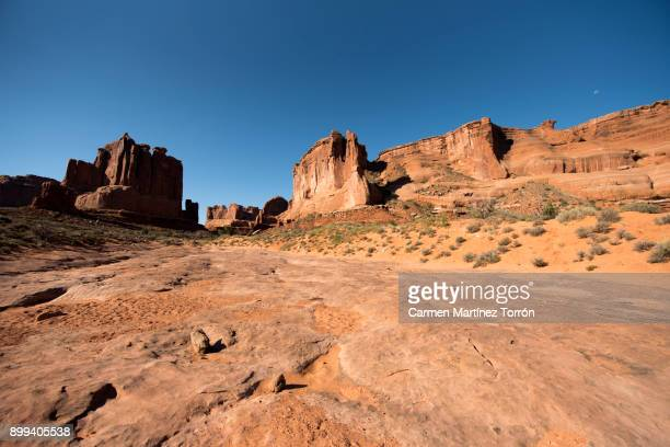 usa, utah, arches national park. - utah stock pictures, royalty-free photos & images