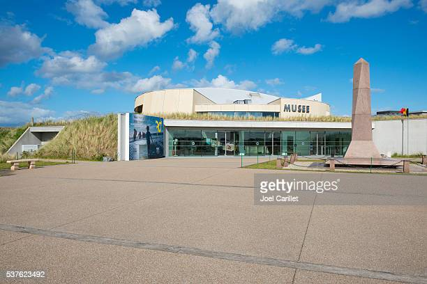 utah beach d-day museum in normandy, france - utah beach stock photos and pictures