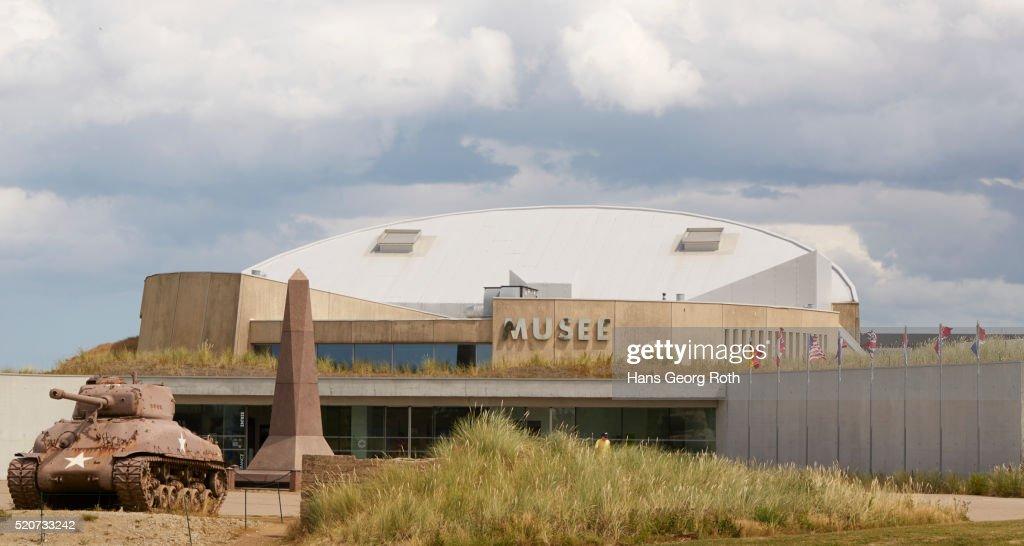 Utah Beach Museum D Day Exterior View