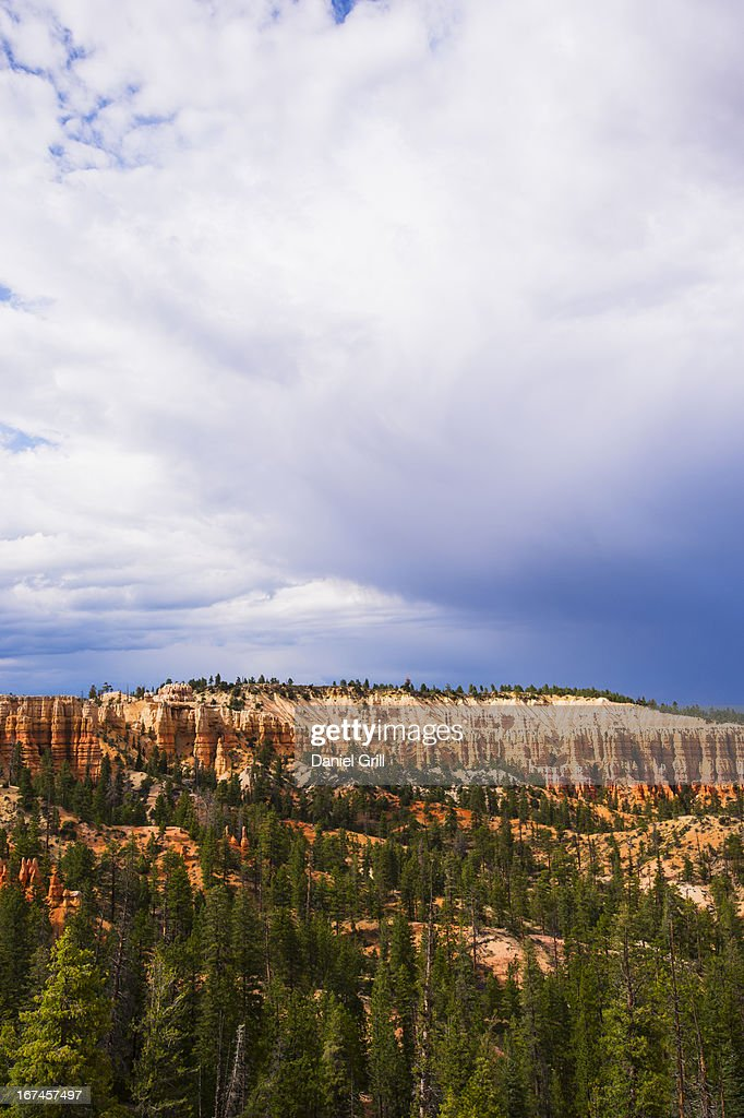 USA, Utah, Bryce Canyon, Landscape with rock formation : Stock Photo
