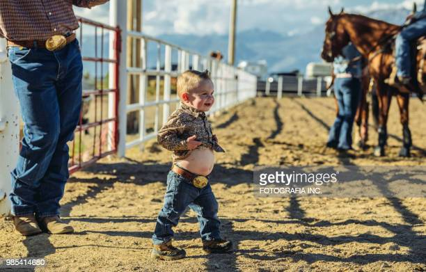 utah cowgirl mother and baby - naughty america stock photos and pictures