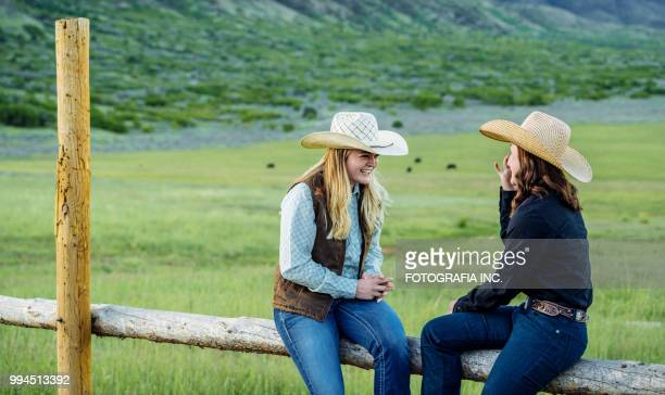 utah cowgirls friends - leather belt stock pictures, royalty-free photos & images
