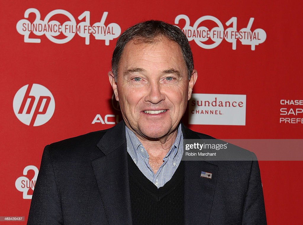 Utah Governor Gary R. Herbert attends 'Mitt' Premiere during 2014 Sundance Film Festival at Rose Wagner Performing Arts Center on January 17, 2014 in Salt Lake City, Utah.