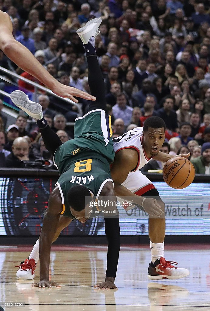 Toronto Raptors beat the Utah Jazz 101-93 : News Photo