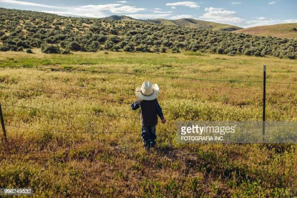 utah junior cowboy outdoors - ranch stock pictures, royalty-free photos & images