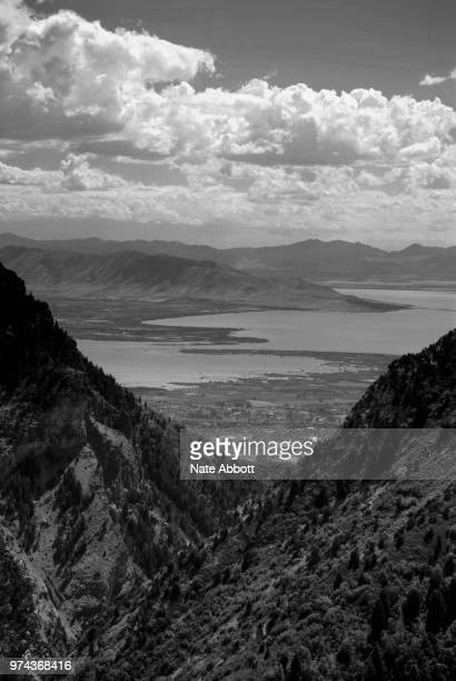 Utah Lake, From Provo Canyon