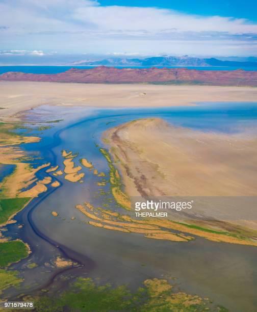 utah landscape aerial - spanish fork utah stock pictures, royalty-free photos & images