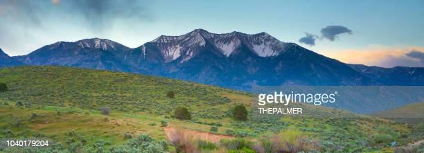 utah landscape mountains - spanish fork utah stock pictures, royalty-free photos & images
