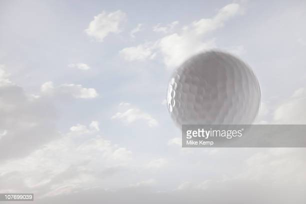 usa, utah, lehi, golf ball against sky - golf ball stock pictures, royalty-free photos & images