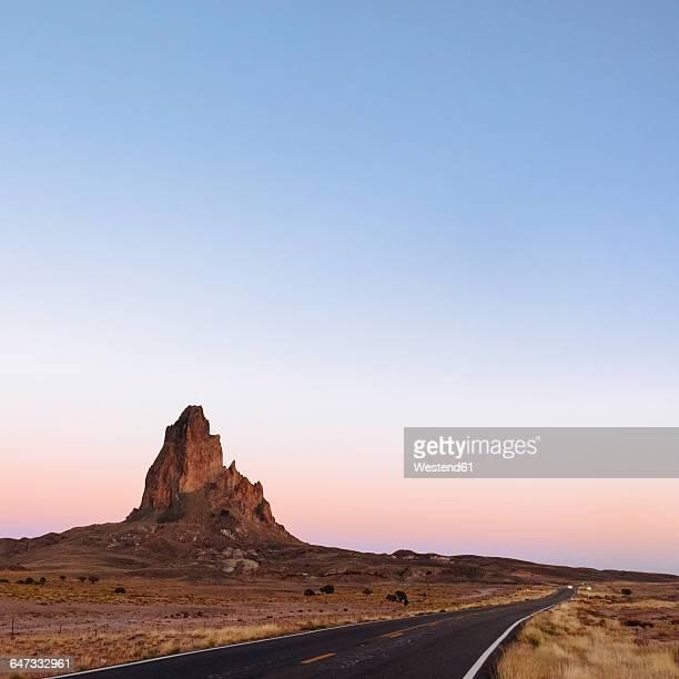 USA, Utah, Monument Valley at sunset