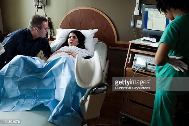 USA, Utah, Payson, Childbirth in hospital