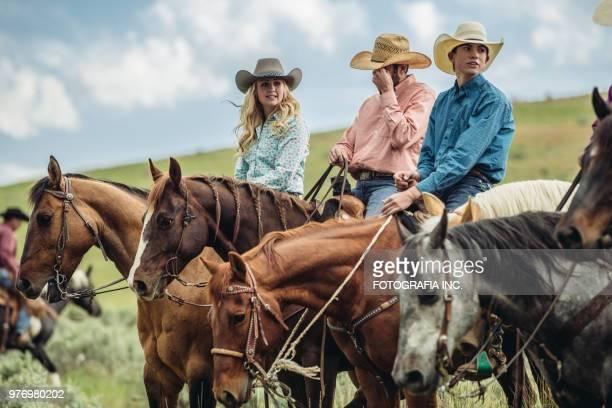 Utah Rancher Family