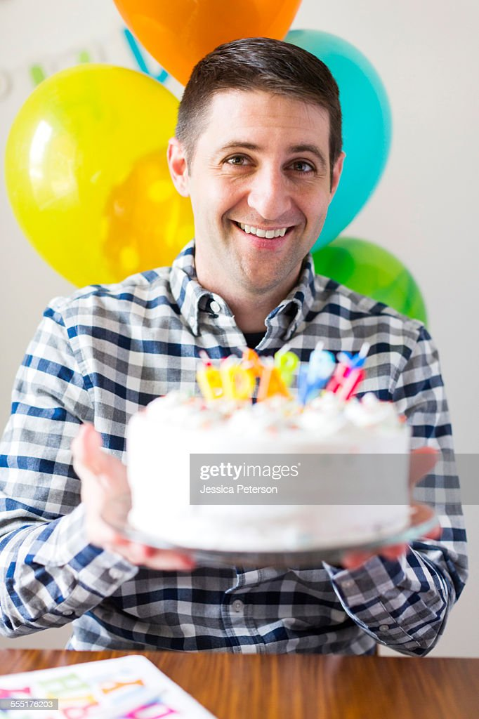 Groovy Usa Utah Salt Lake City Portrait Of Midadult Man With Birthday Funny Birthday Cards Online Overcheapnameinfo