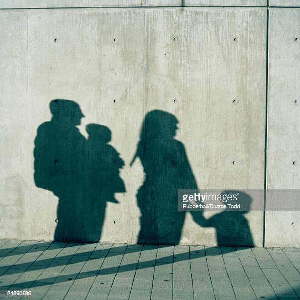 USA, Utah und Salt Lake City, Schatten der Familie