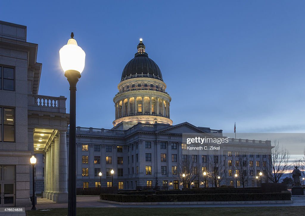 Utah State Capitol : Stock Photo