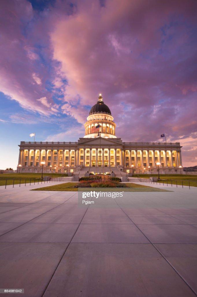 Utah State Capitol Salt Lake City USA : Stock Photo