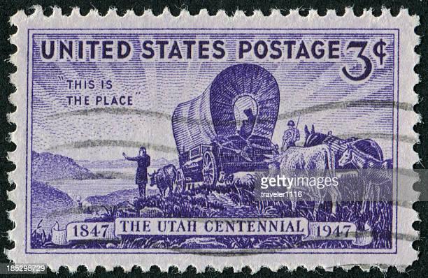 Tampon création de l'État de l'Utah