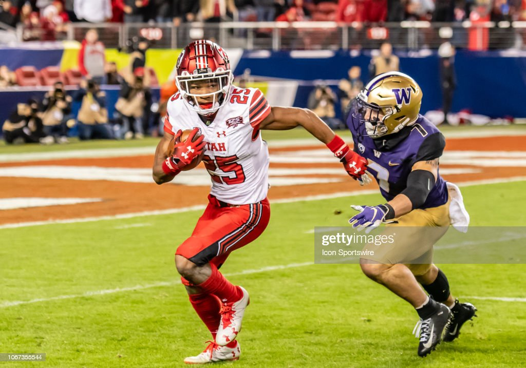 COLLEGE FOOTBALL: NOV 30 Pac-12 Championship Game - Washington v Utah : News Photo
