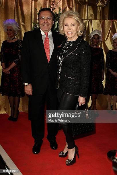 Ute and Mario Ohoven attend the 'Lambertz Monday Night' at 'Alter Wartesaal' on January 28 2013 in Cologne Germany