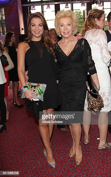 Ute Henriette Ohoven and her daughter Chiara Ohoven attend the 'Gala Abend mit Arthur Cohn' as part of Filmfest Muenchen 2014 at Gasteig on July 1...