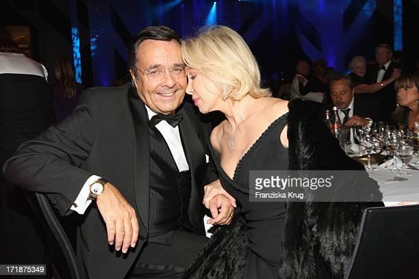 Ute Henriette Ohoven With Husband Mario Eim 'Ball Of Stars' Im Rosengarten in Mannheim
