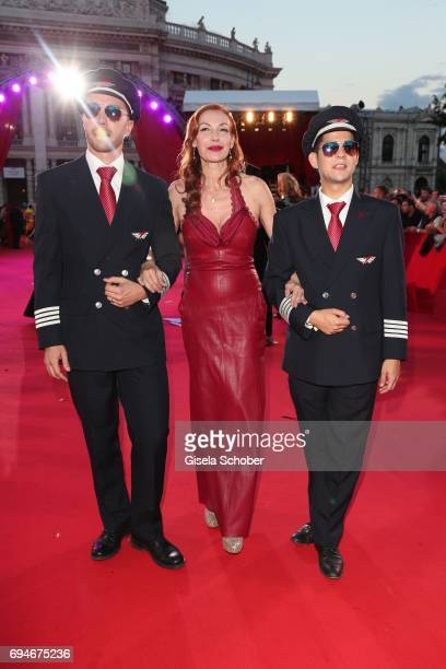Ute Lemper during the Life Ball 2017 at City Hall on June 10 2017 in Vienna Austria