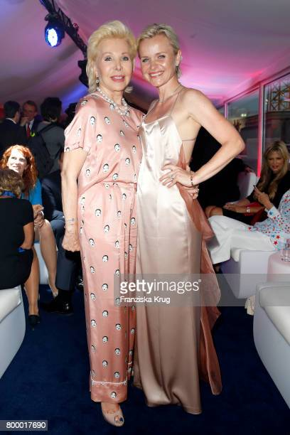 Ute Ohoven and Barbara Sturm attend the 'Bertelsmann Summer Party' at Bertelsmann Repraesentanz on June 22 2017 in Berlin Germany