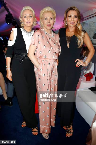 Ute Ohoven and her daughters Claudia Jerger and Chiara Ohoven attends the 'Bertelsmann Summer Party' at Bertelsmann Repraesentanz on June 22 2017 in...