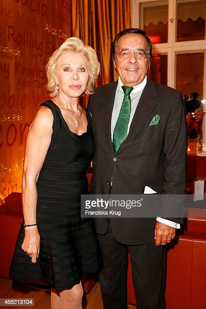 Ute Ohoven and Mario Ohoven attend the Bertelsmann Summer Party at the Bertelsmann representative office on September 10 2014 in Berlin Germany