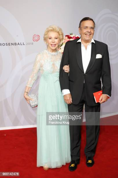 Ute Ohoven and Mario Ohoven during the Rosenball charity event at Hotel Intercontinental on May 5 2018 in Berlin Germany