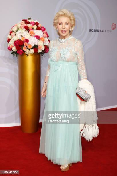 Ute Ohoven during the Rosenball charity event at Hotel Intercontinental on May 5 2018 in Berlin Germany