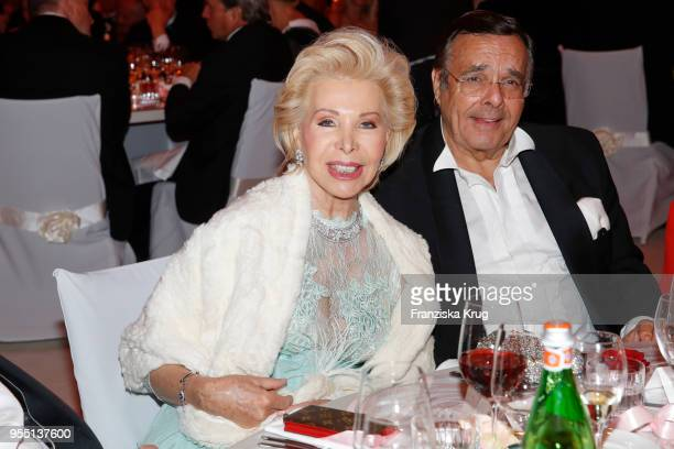 UteHenriette Ohoven and Mario Ohoven during the Rosenball charity event at Hotel Intercontinental on May 5 2018 in Berlin Germany