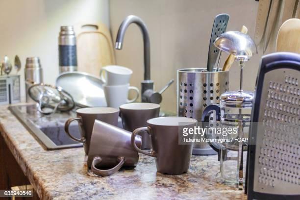 Utensils in the kitchen